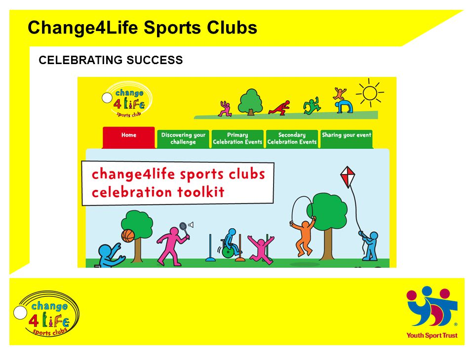 Change4Life Sports Clubs CELEBRATING SUCCESS