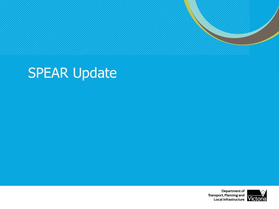 SPEAR Update