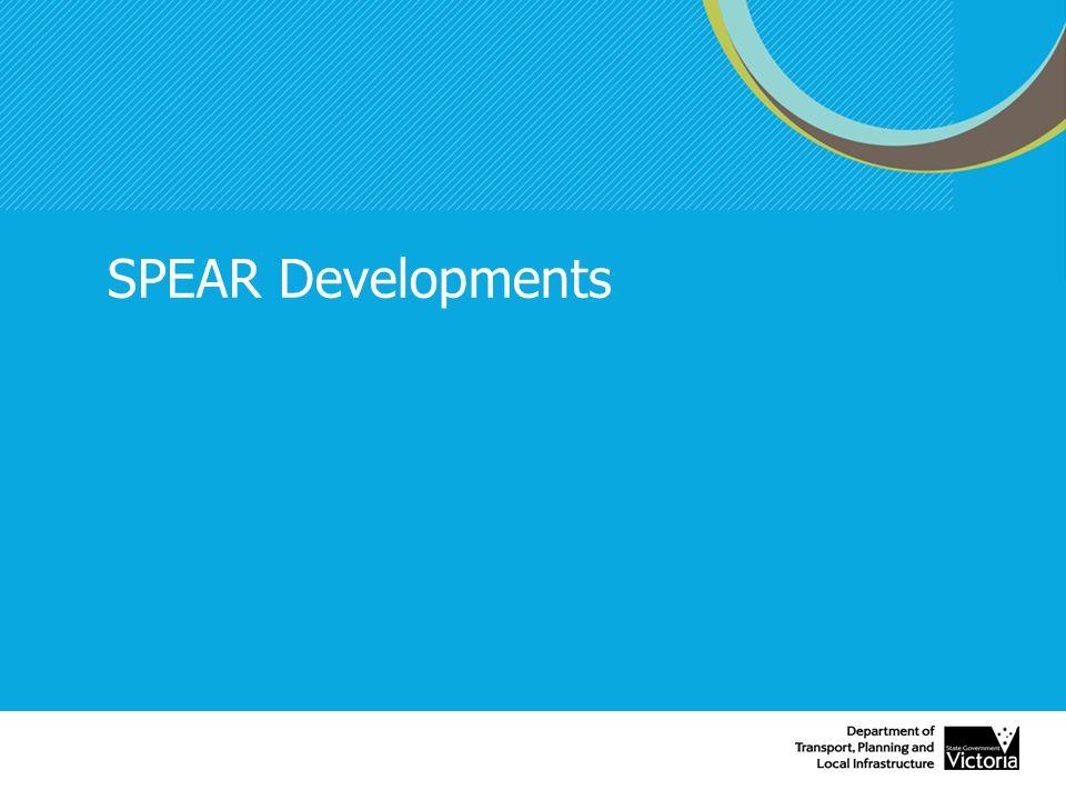 SPEAR Developments