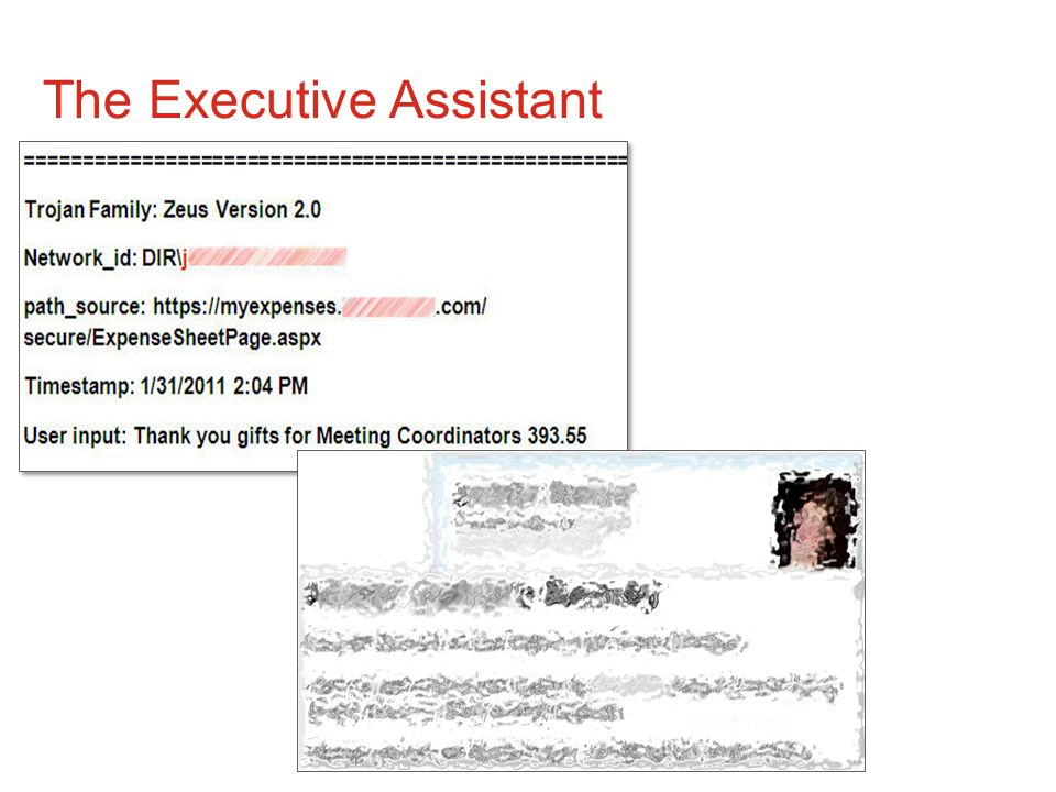 10© Copyright 2011 EMC Corporation. All rights reserved. The Executive Assistant
