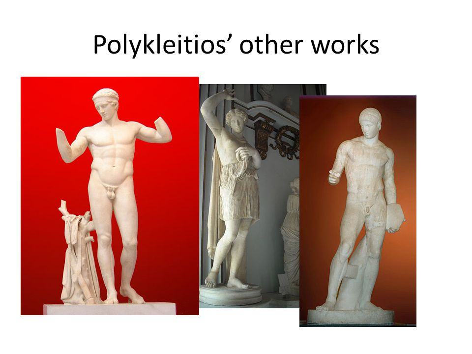 Polykleitios' other works