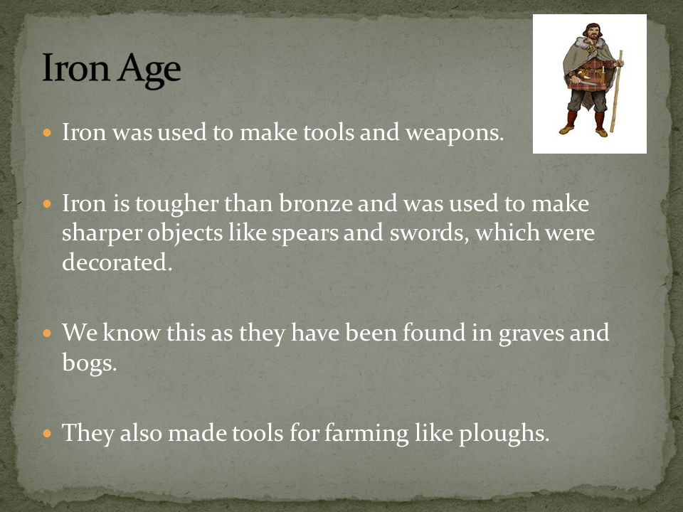 Bronze age axe and spear heads