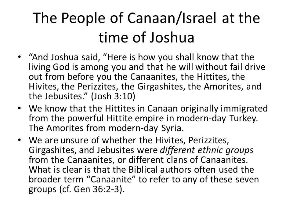 Canaanites Canaanite Language – Hebrew comes from Canaanite.