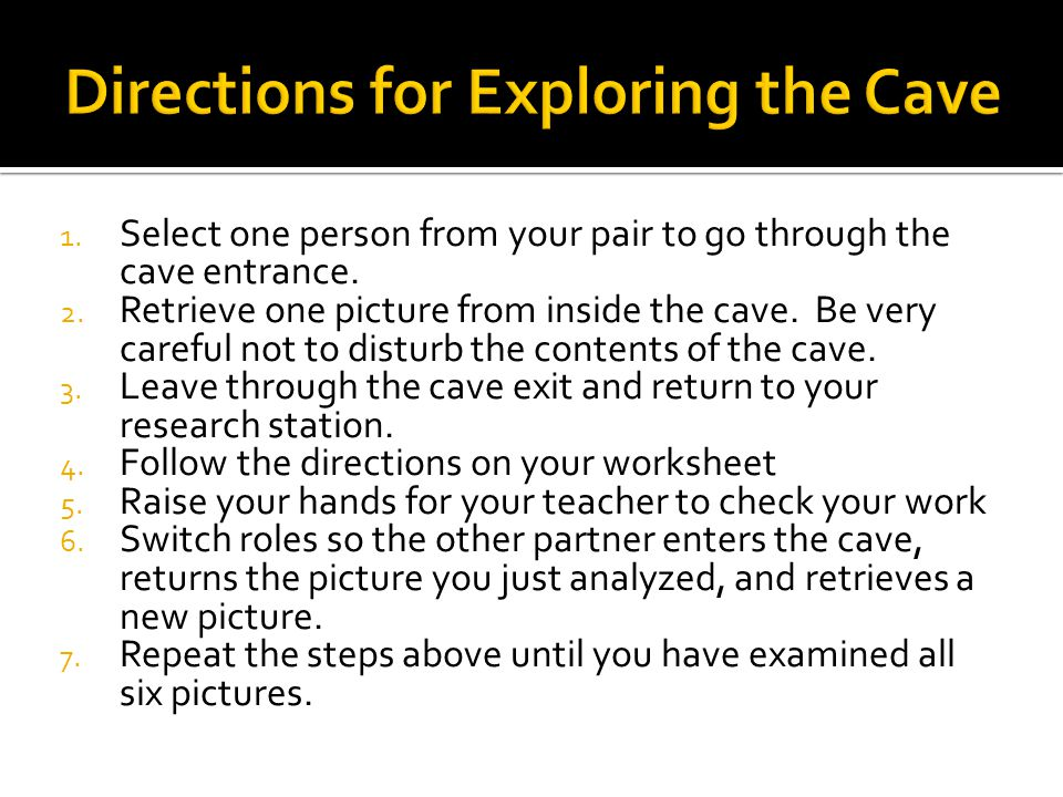  Create a cave painting that represents the most important aspects of your life.