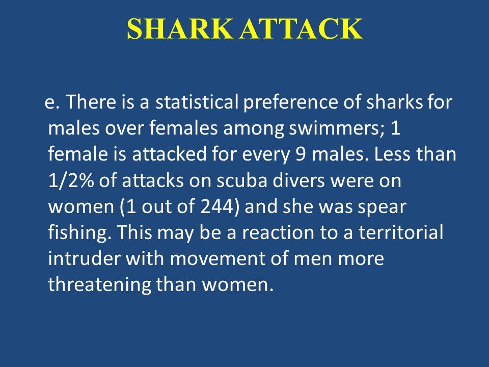 SHARK ATTACK e.