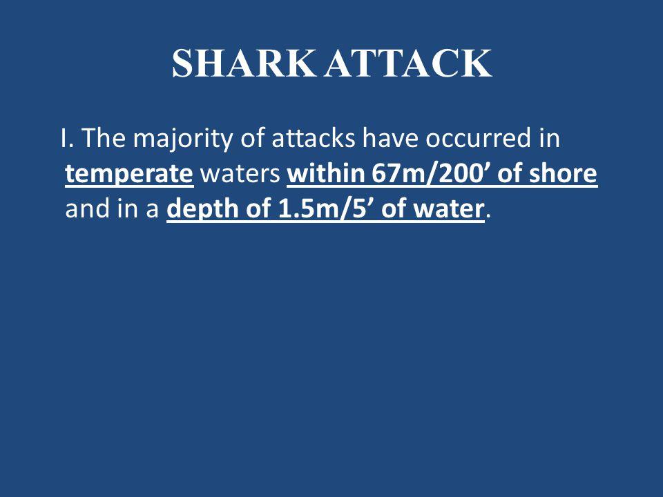SHARK ATTACK I.