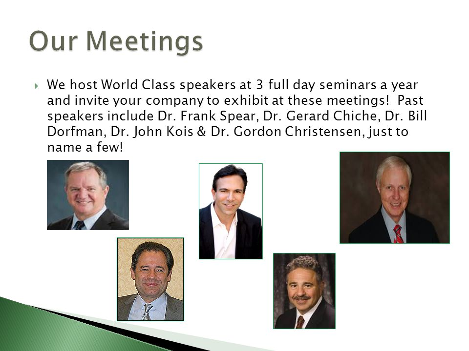 Our first meeting of the year is on Friday October 17 th 2014 with Implant speaker Dr.
