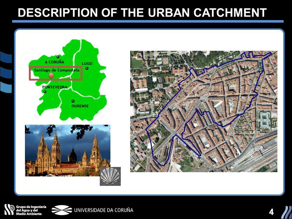 4 DESCRIPTION OF THE URBAN CATCHMENT