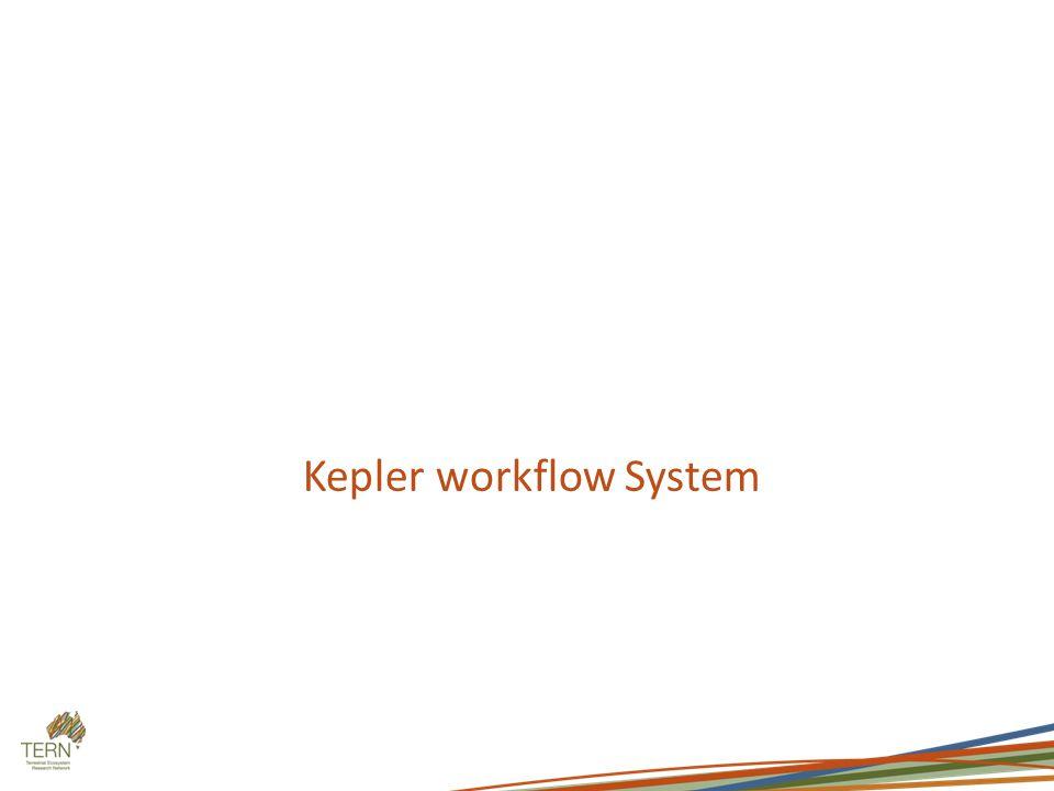 Kepler workflow System