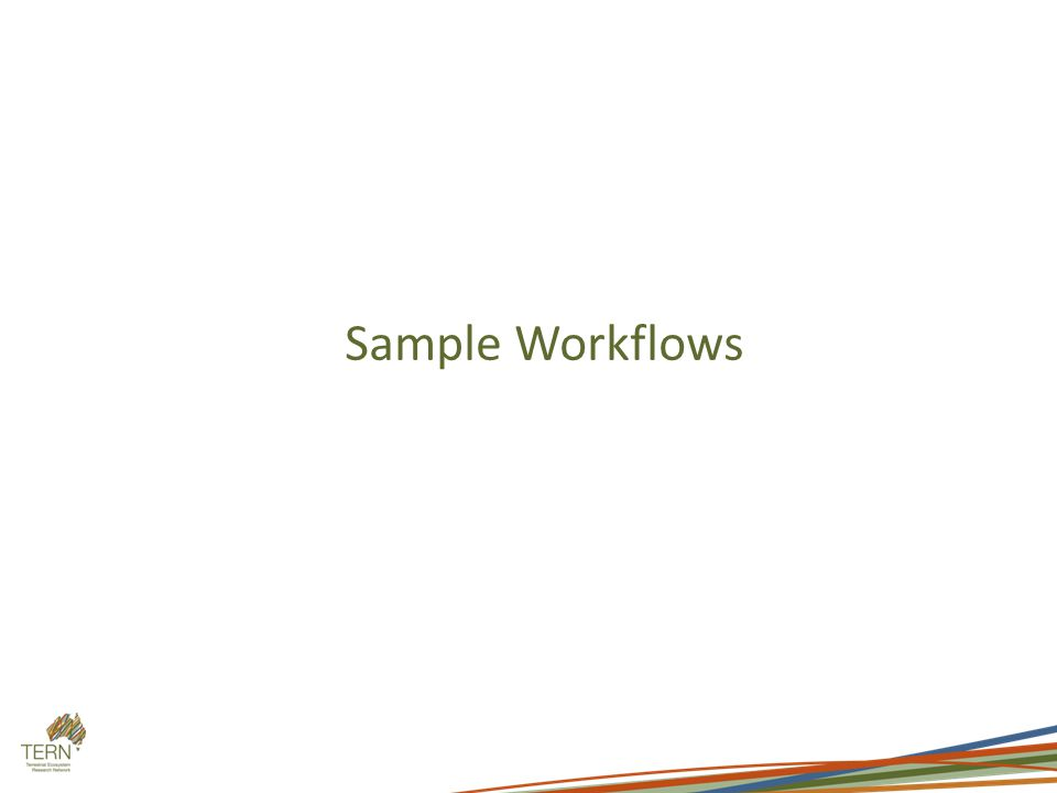 Sample Workflows