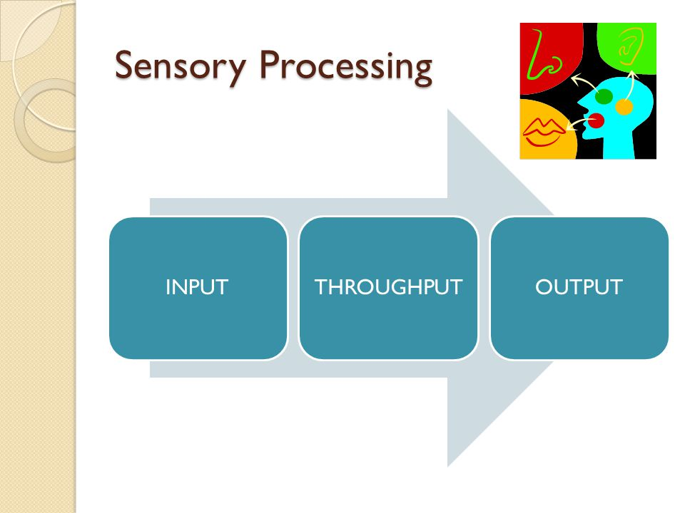 How does sensory processing connect to school performance.