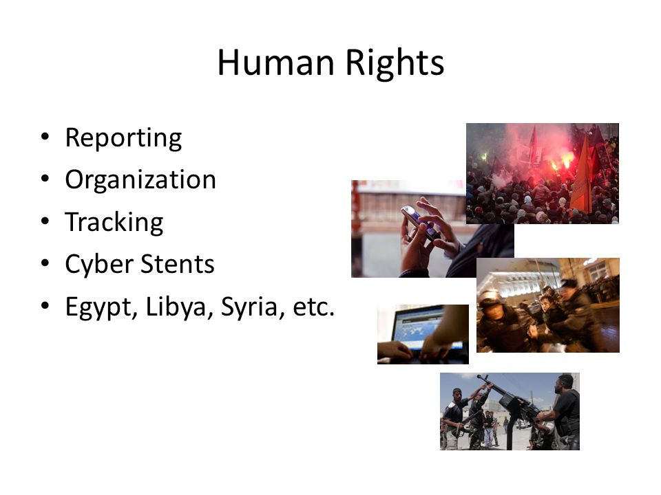 Human Rights Reporting Organization Tracking Cyber Stents Egypt, Libya, Syria, etc.