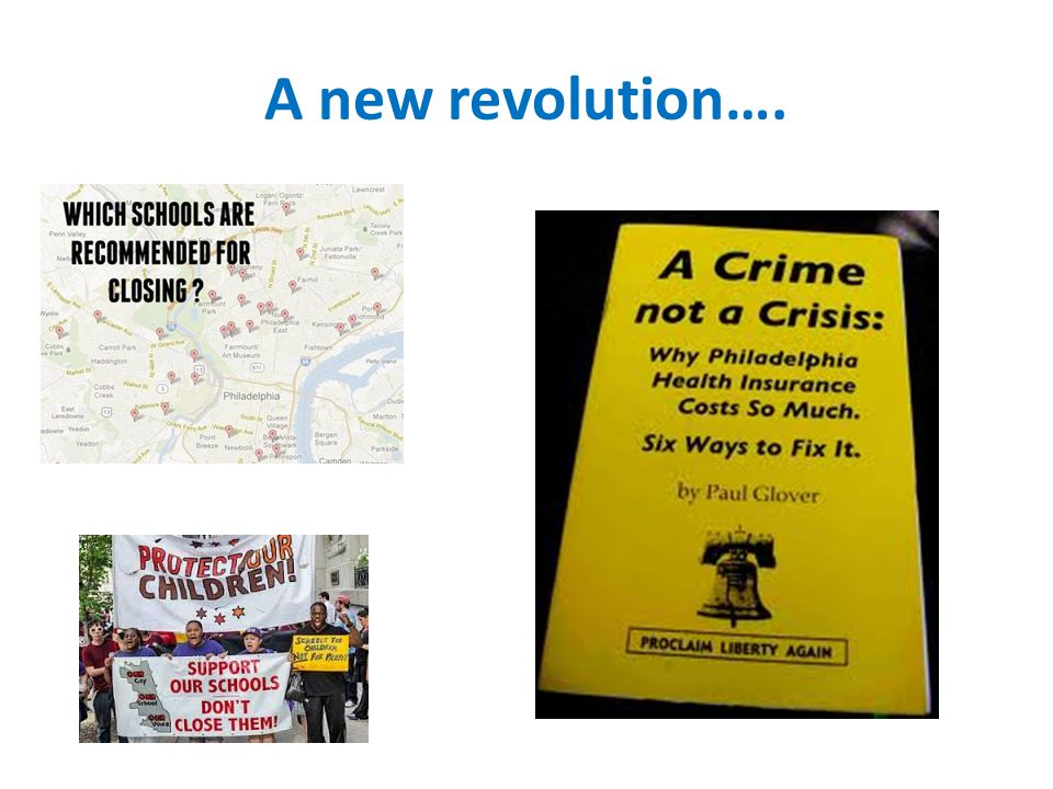 A new revolution….