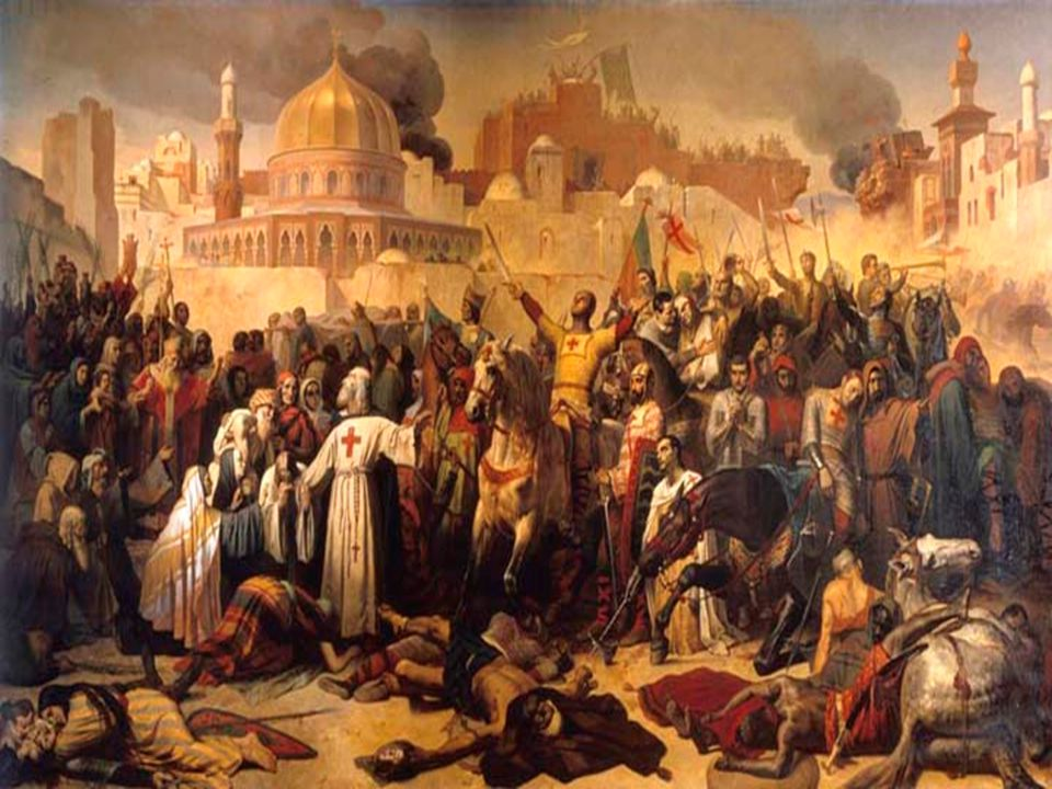 Crusades Crusades The Crusades were a series of battles between Christians and Muslims in the Middle East.