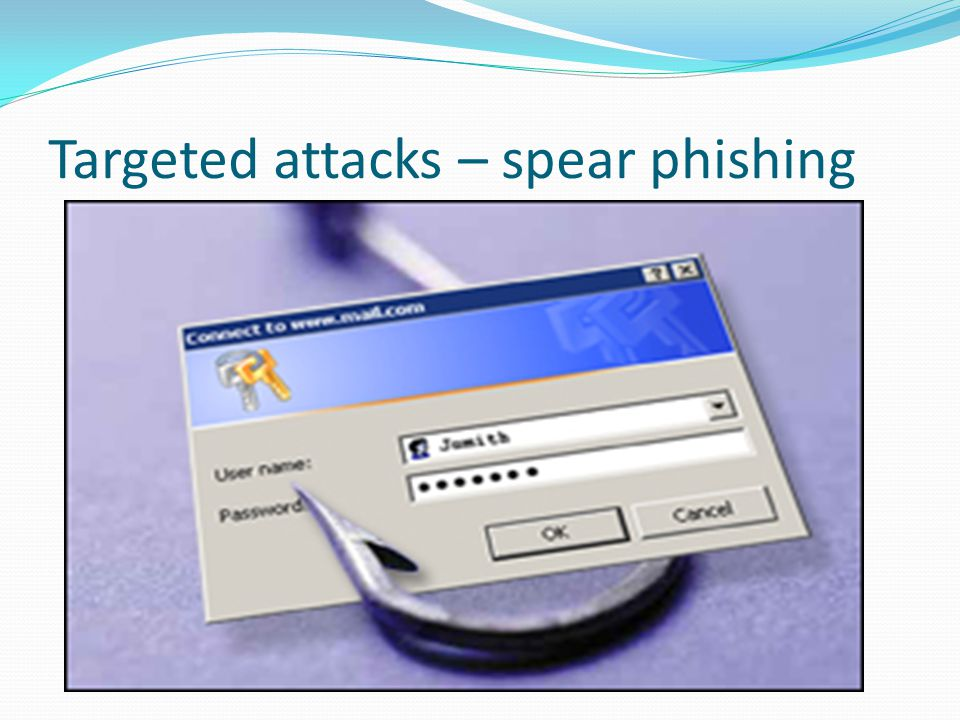Targeted attacks – spear phishing