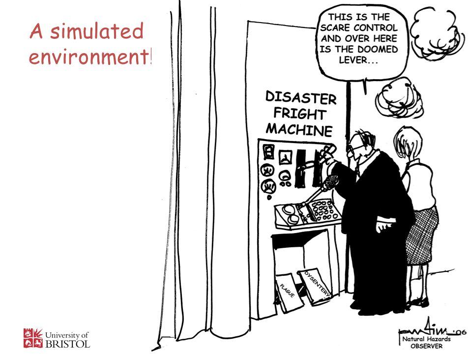 A simulated environment! 4