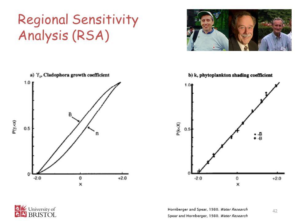 Regional Sensitivity Analysis (RSA) 42