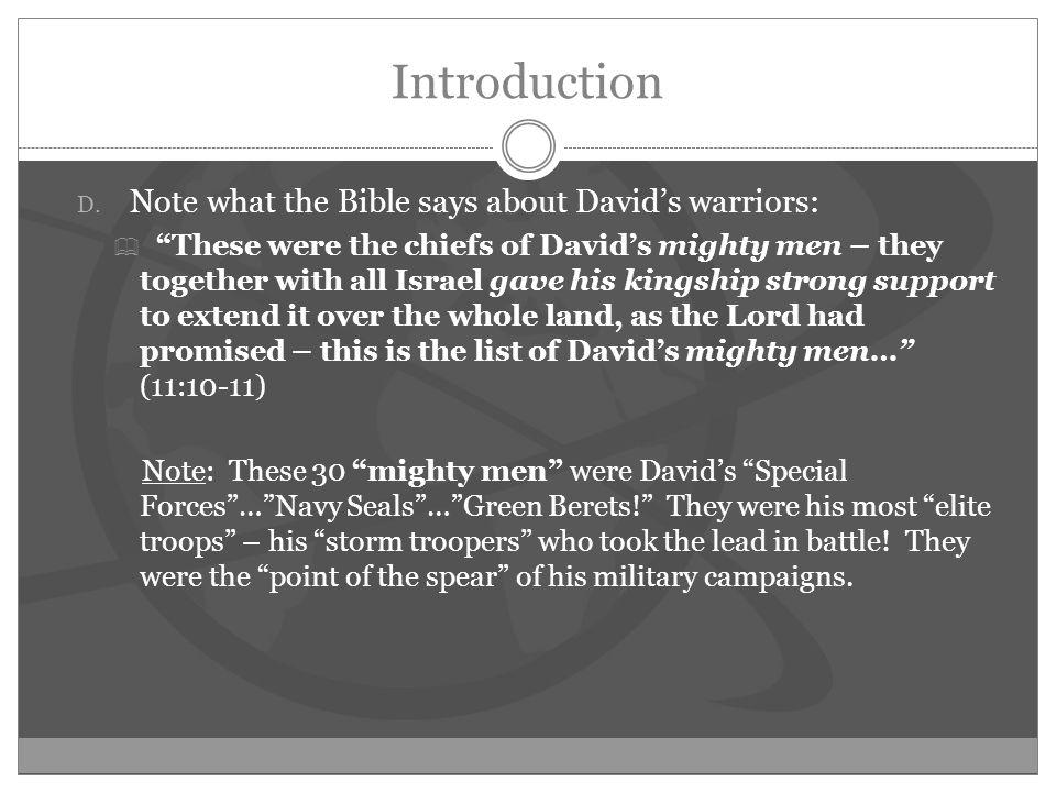 Introduction D.
