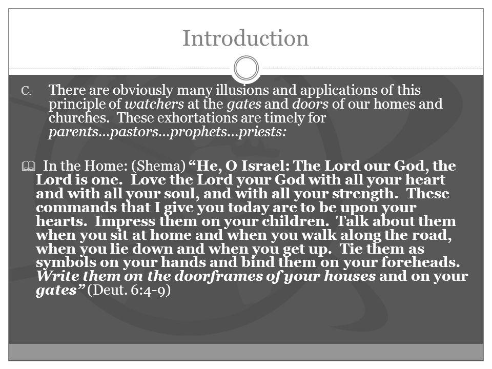Introduction C.