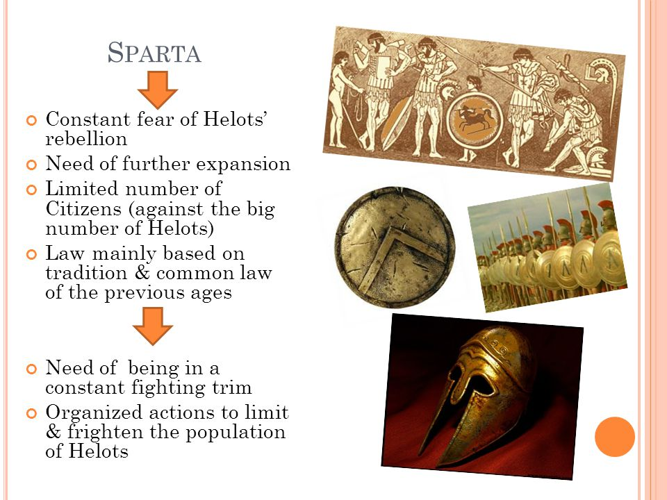 S PARTA Administrative authorities: o Two Kings, who were members of two noble old families of Sparta & were hereditary o Gerousia (= Senate/Council of the Elder), which was the council consisted of 28 leaders of the most significant families, all over 60 years old, & the 2 kings o Apella (=Assembly), which was the assembly of the warriors, all over 18 years old o Five Ephors, who were powerful priests-prophets till the 8 th c.