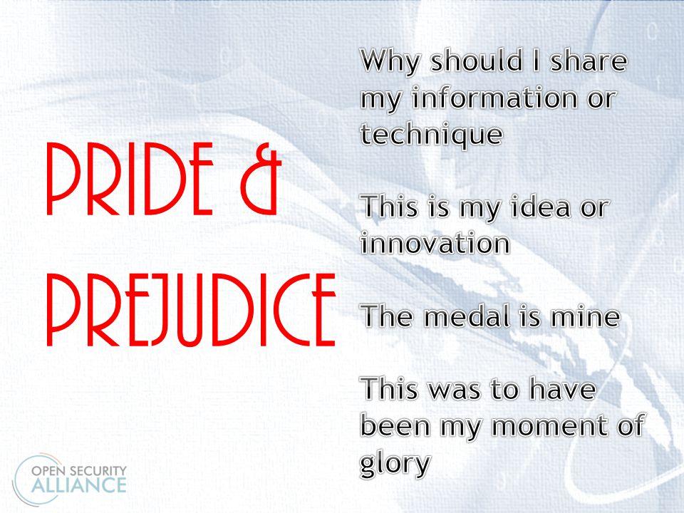 \ PRIDE & PREJUDICE