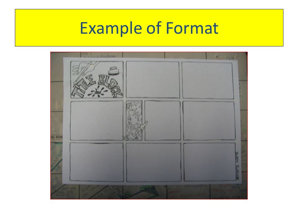 Example of Format