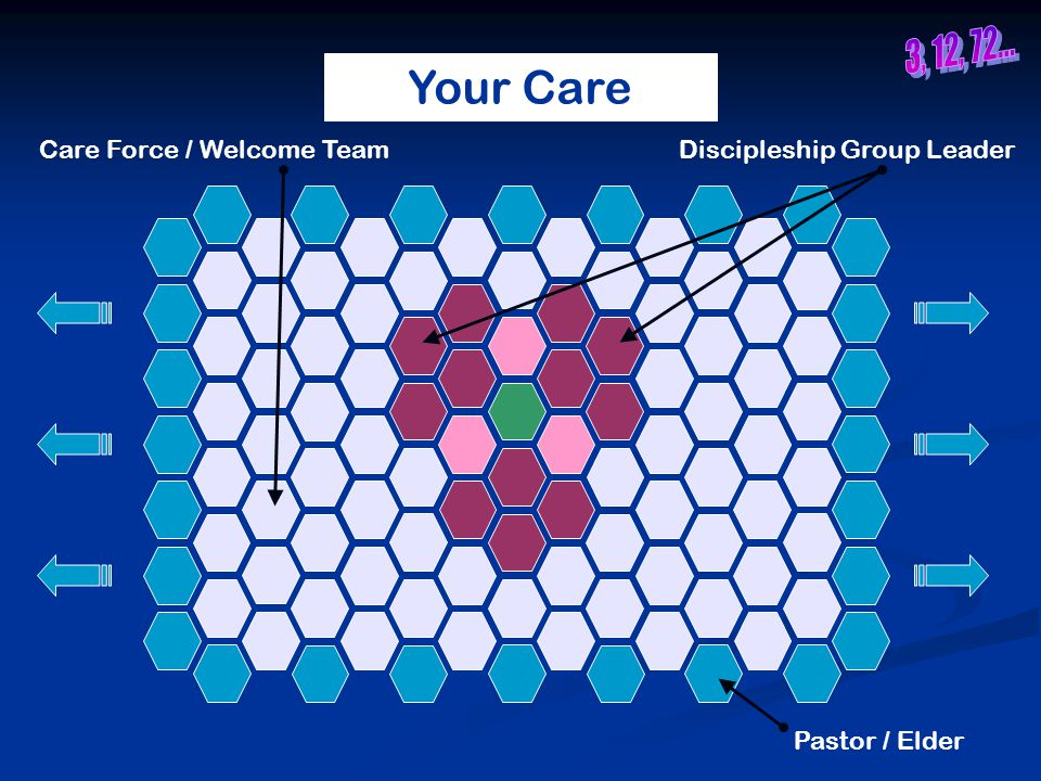Your Care Pastor / Elder Discipleship Group LeaderCare Force / Welcome Team