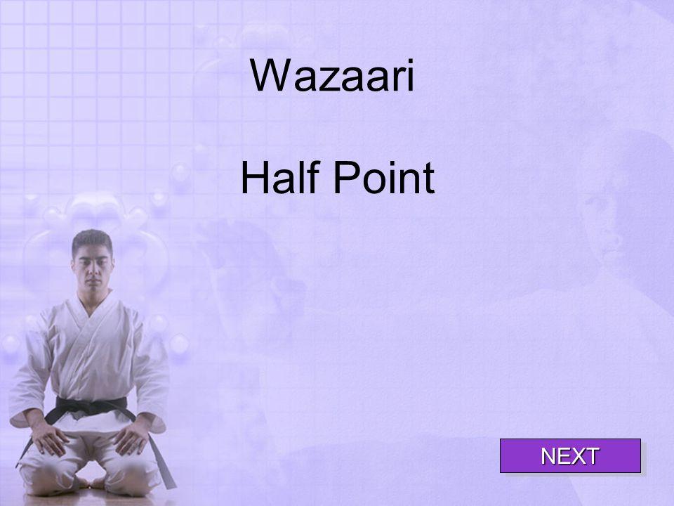 Wazaari Half Point NEXT