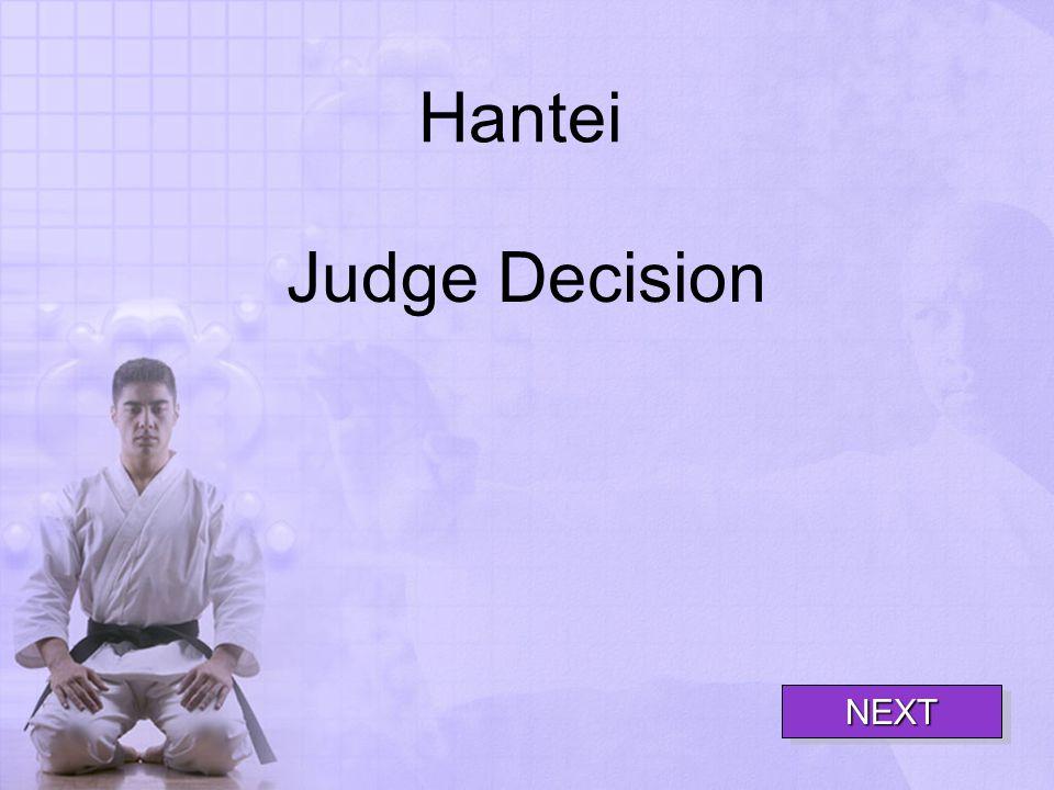 Hantei Judge Decision NEXT
