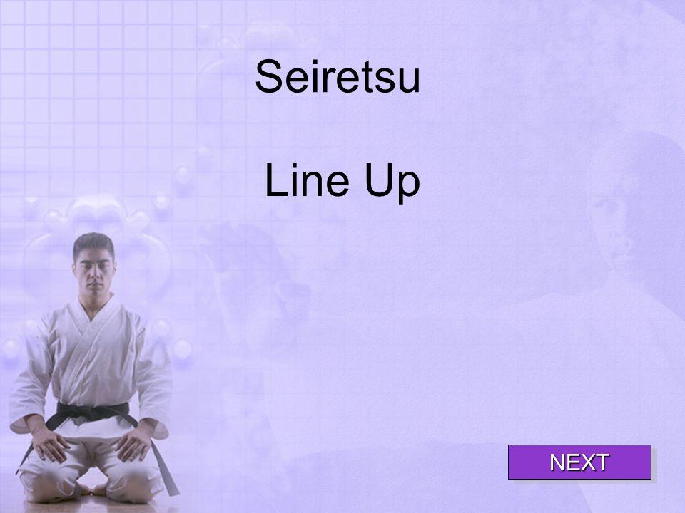 Seiretsu Line Up NEXT