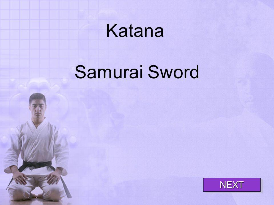 Katana Samurai Sword NEXT