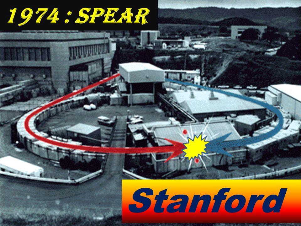 1974 : SPEAR Stanford