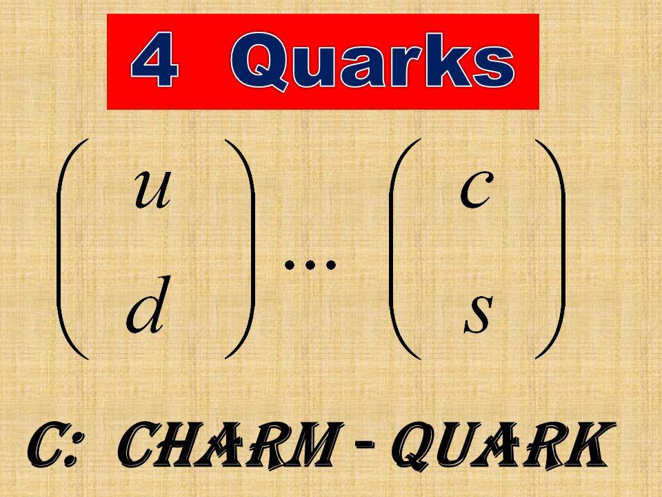 c: Charm - Quark