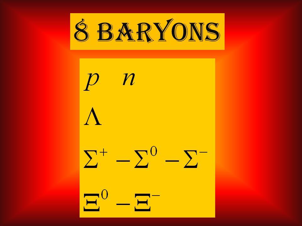 8 baryons