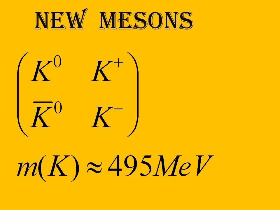new mesons
