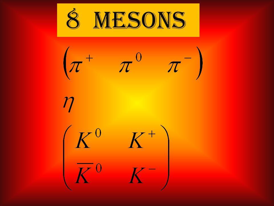 8 mesons