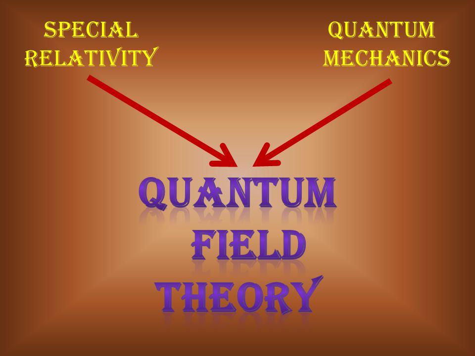 Special quantum relativity mechanics