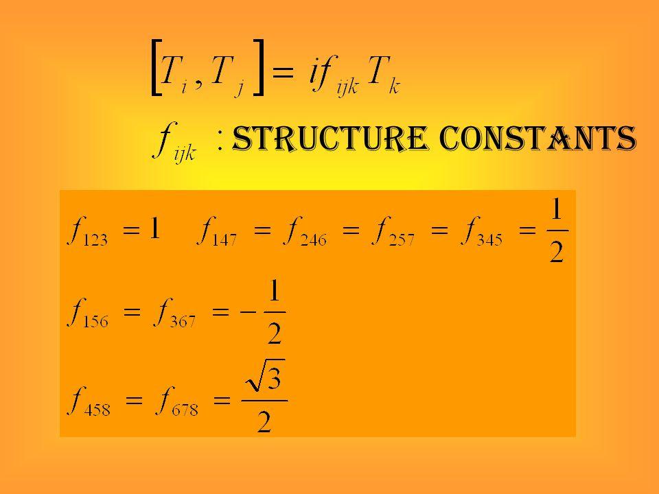 structure constants
