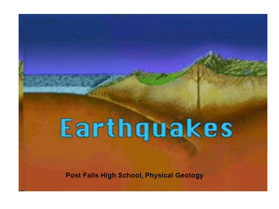 Post Falls High School, Physical Geology