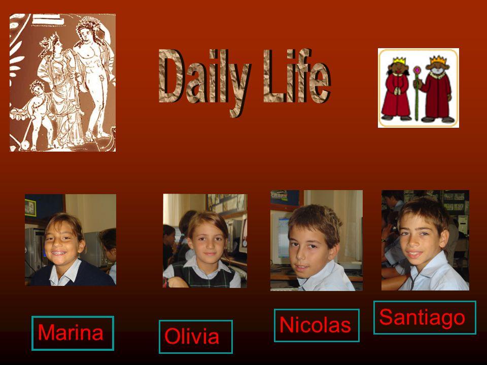 Santiago Nicolas Olivia Marina