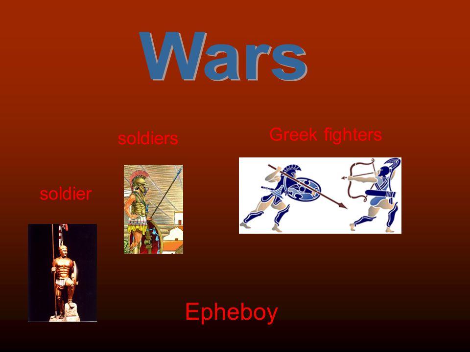 Greek fighters soldiers soldier Epheboy