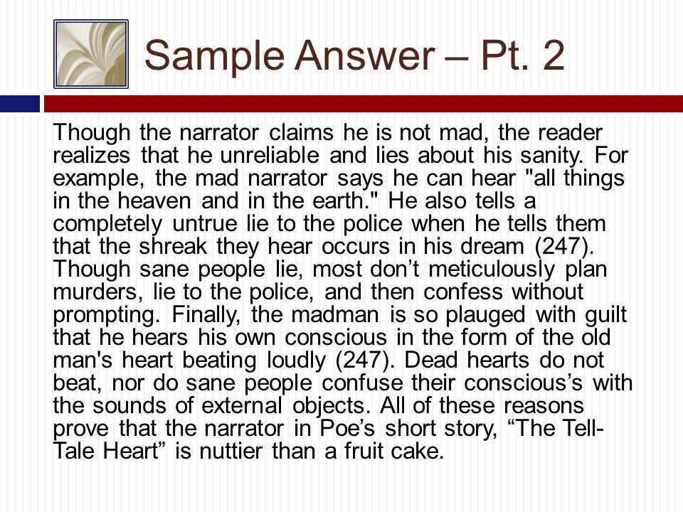 Sample Answer – Pt.