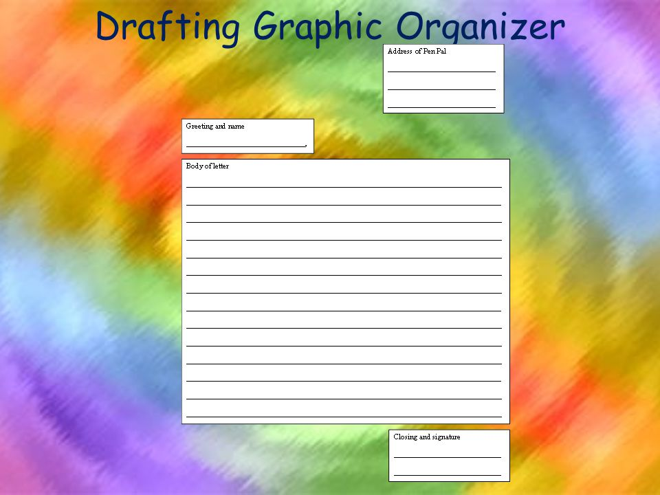 Drafting Graphic Organizer