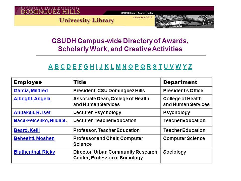 Awards 1998 Teacher of the Year, Associated Students, Inc.