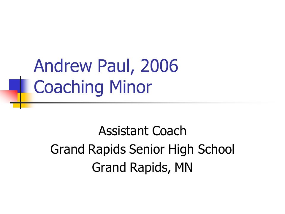 Tim Doyle, 2002 Physical Education Senior Sales Representative Abbott Laboratories Duluth, MN