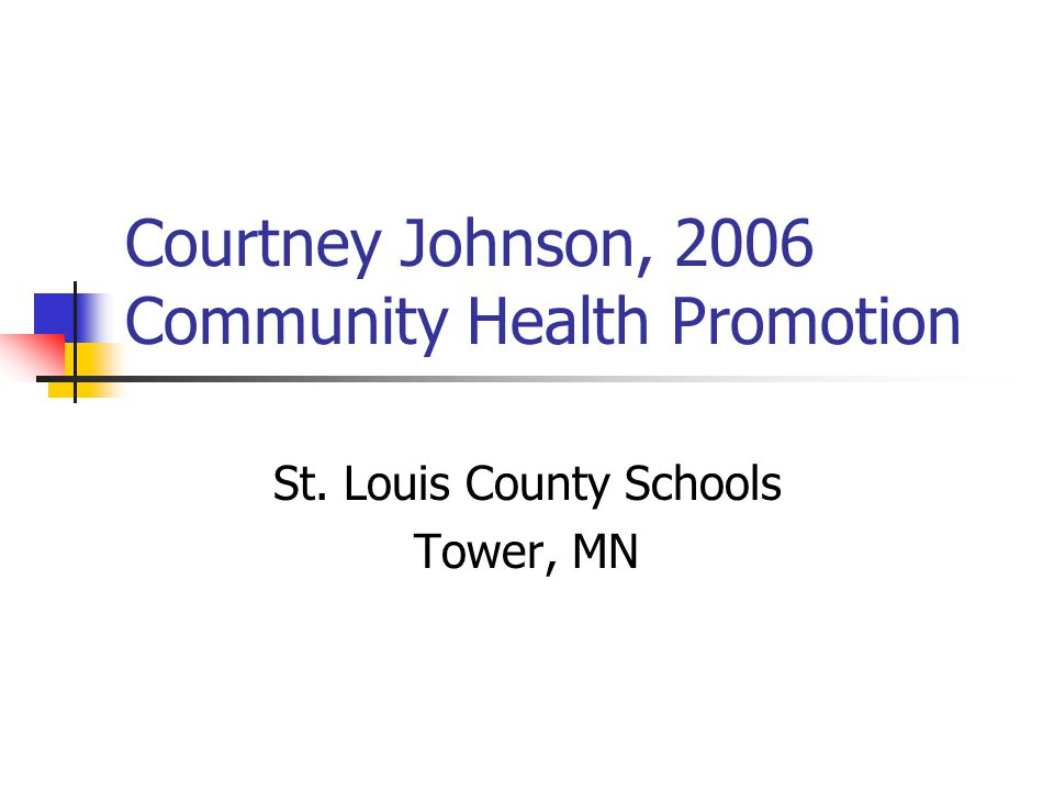 Cassie Evenson Carly, 2003 Physical Education Online Health Occupations Instructor Breezy Point, Minnesota