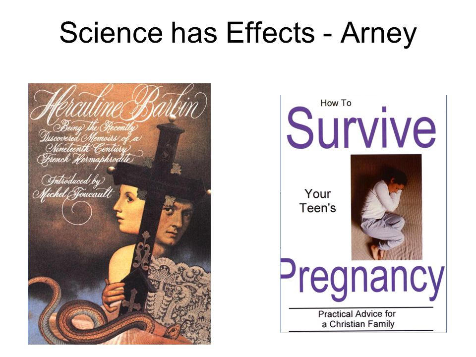 Science has Effects - Arney