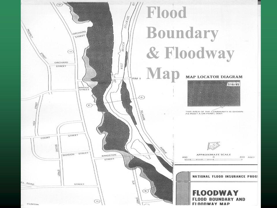 Flood Boundary & Floodway Map