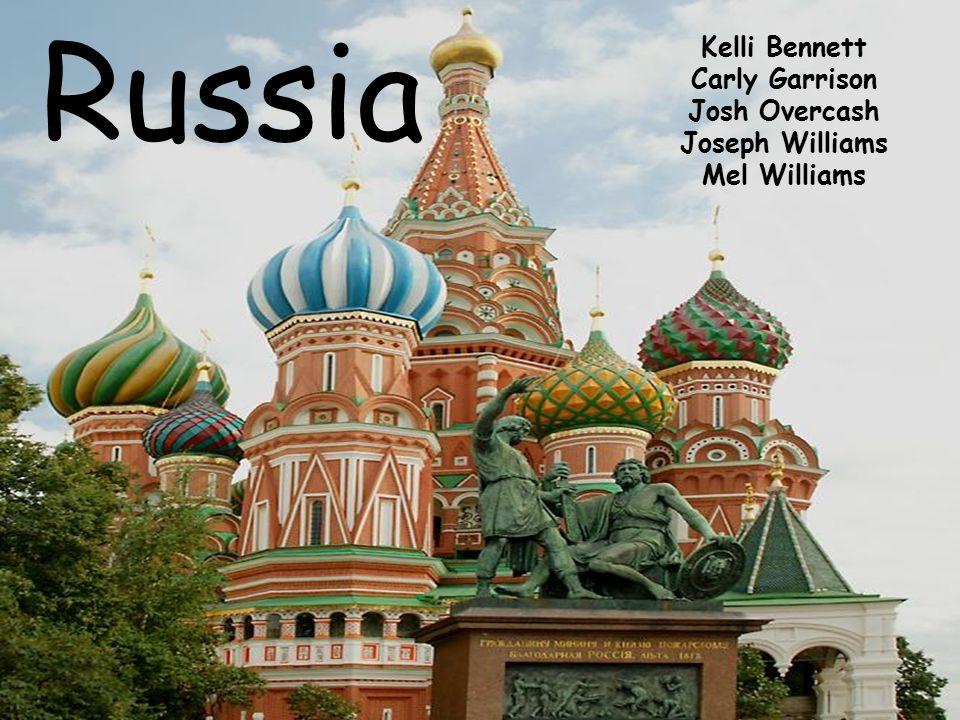 Russia Kelli Bennett Carly Garrison Josh Overcash Joseph Williams Mel Williams