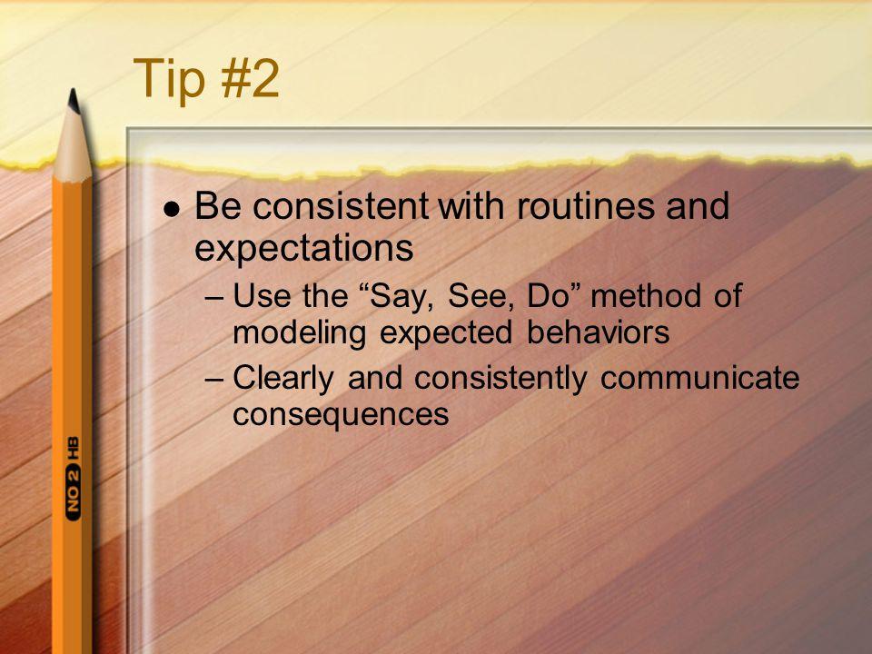 Tip #3 Break the class period into different activities.